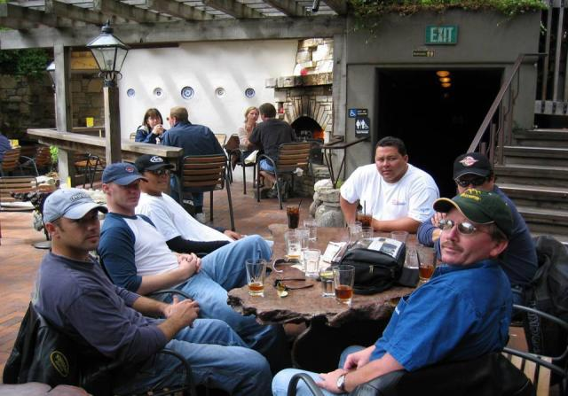 Chillin' with the boyz - Coast Ride 2004